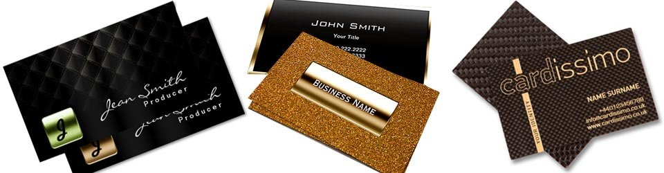Luxury Business Cards Printing Company